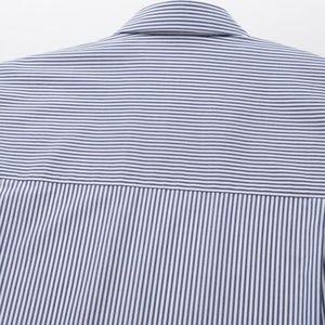 Uniqlo Tops - Uniqlo | Extra Fine Cotton Striped Shirt